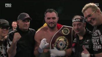 Victorie MAGNIFICA pentru Ciocan! A castigat titlul european WBO si viseaza la cel mondial in 2017! L-a batut la decizie pe turcul Erkan, neinvins pana acum