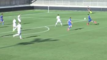 VIDEO: Golul minunat marcat de Alex Pascanu, romanul nostru de la Leicester! E jucatorul cu cele mai multe minute in ultimul an in nationala U19 a Romaniei
