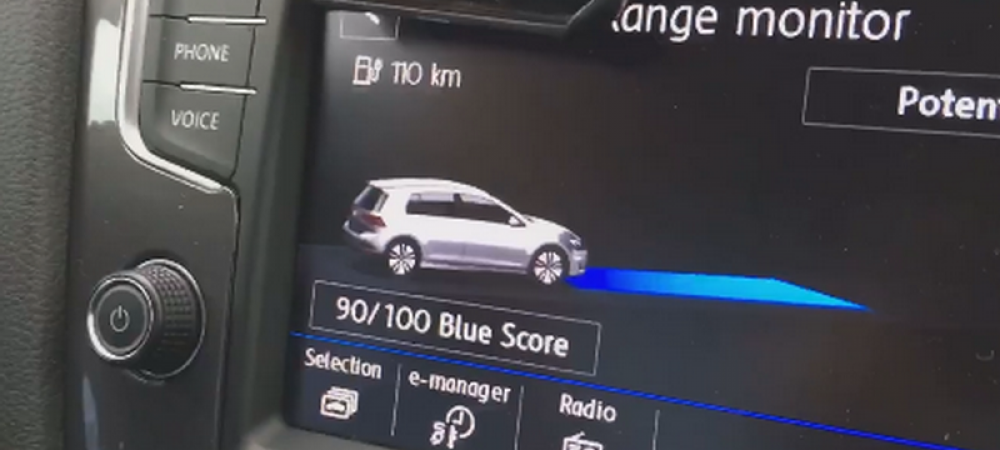 E Romania pregatita pentru masinile electrice? TEST DRIVE: Cum e sa conduci de la Bucuresti la Timisoara cu un Golf electric!
