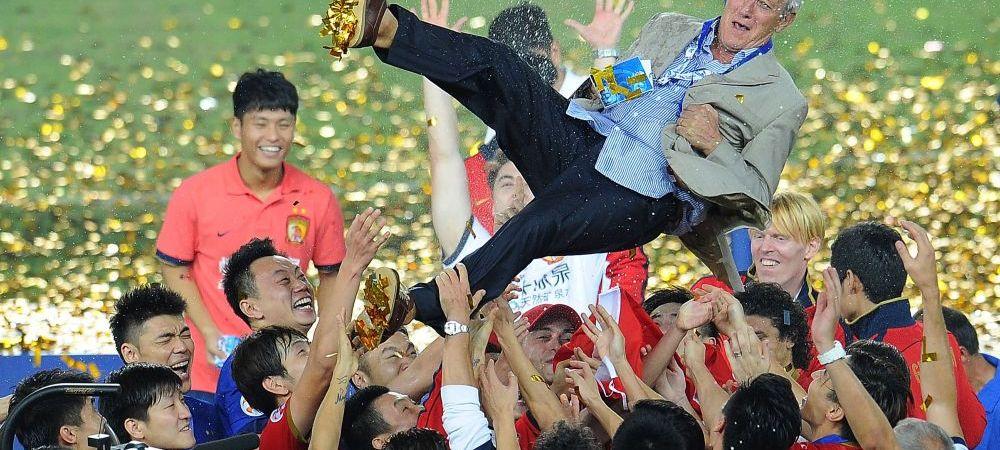 Colosal: la 68 de ani, fostul campion mondial Marcelo Lippi a devenit cel mai bine platit selectioner din lume pe banca unei nationale cu sanse mici sa ajunga la Mondial