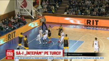 19:00 LIVE VIDEO Gaziantep - U Cluj, FIBA Europe Cup, LIVE pe www.sport.ro! Cum au incercat clujenii sa-i sperie pe turci cu Vlad Tepes!