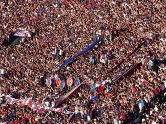 Iata motivul pentru care fotbalul fara suporteri nu exista! Galeria lui San Lorenzo a luat un cantec cu 400mil de vizualizari si l-a dus pe stadion! VIDEO