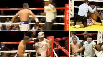 VIDEO INCREDIBIL! Cea mai ciudata lupta a anului in box! Si-a facut KO adversarul, apoi l-a luat pe antrenor la bataie in ring!