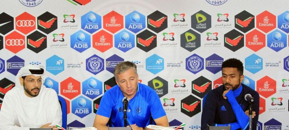 "Petrescu, prezentat oficial la Al Nasr Dubai! Super Dan debuteaza joi in Emirate: ""Obiectivul e castigarea primului meci!"" FOTO"