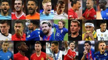 """Cei 23 de jucatori nominalizati de FIFA pentru titlul de JUCATORUL ANULUI. FIFA a renuntat la colaborarea cu France Football si la numele """"Ballon d'Or"""""""