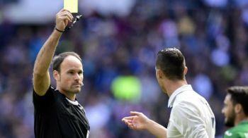 """""""FUCK OFF!"""" Gest controversat al lui Cristiano Ronaldo! A avut o ratare uriasa, apoi l-a injurat pe arbitru si s-a suparat pe Bale!"""