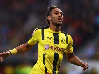 Cele patru goluri cu Hamburg l-au dus in TOP 3 pentru Gheata de Aur: Aubameyang le-a luat fata lui Diego Costa si Dzeko. Llullaku, la un gol de TOP 10