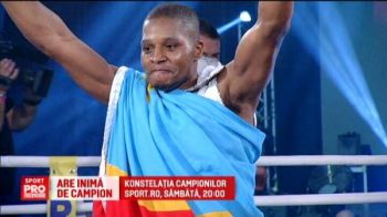 Povestea emotionanta a refugiatului care a ajuns campion mondial. Revansa Ngimbi vs Paraschiv, sambata la Sport.ro   VIDEO
