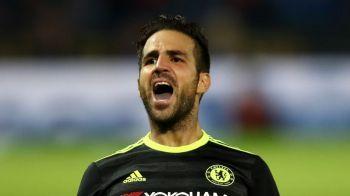 Transfer BOMBA pentru Fabregas din ianuarie! Unde ar putea ajunge sa joace fostul star al Barcelonei, exclus de Conte din calcule la Chelsea