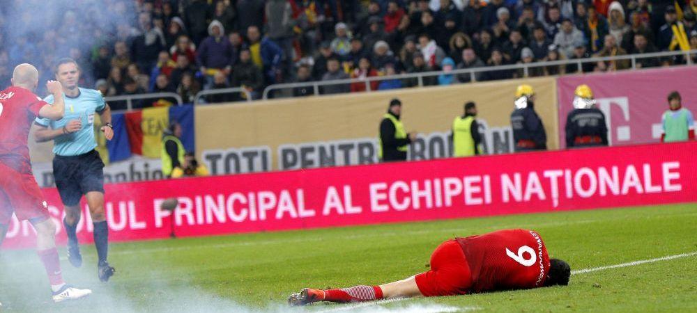 """""""Foarte urat ce au facut spectatorii! Ei ar trebui sa vina sa ne sprijine!"""" Reactia jucatorilor nationalei dupa faza la care o petarda a explodat langa Lewandowski"""