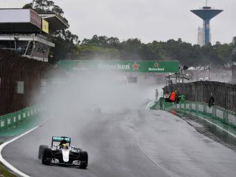 Hamilton castiga Marele Premiu al Braziliei! Titlul mondial se decide in ultima cursa a sezonului!