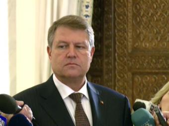 Ce a vrut sa spuna Iohannis? :) Cum a reactionat presedintele Romaniei dupa ce a fost intrebat cum i se pare selectionerul Daum. VIDEO