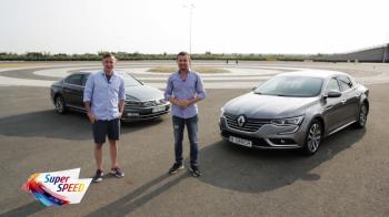 TEST COMPARATIV: Volkswagen Passat vs Renault Talisman! Afla care e mai bun de la Giurgea si Bratu. VIDEO