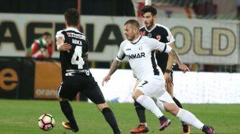 Sa vina Steaua. Dinamo a invins-o pe Astra cu 5-2 in sferturile Cupei Ligii, cu 3 goluri in prelungiri. Meci nebun cu 3 eliminari si 2 penaltyuri