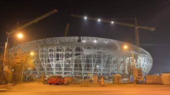 Sa se faca LUMINA. Noul Oblemenco din Craiova vegheaza deja peste oras. Planul urias pentru inaugurare: duel CSU Craiova - Real Madrid