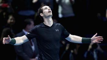 Campionul campionilor. Andy Murray arata de ce e noul lider mondial: victorie in doua seturi impotriva lui Djokovic in finala Turneului Campionilor