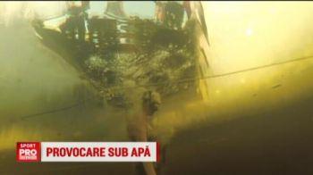 VIDEO Provocarea manechinului a ajuns si in apa. Fetele de la polo au ramas statui in bazin