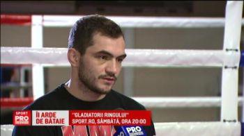 "VIDEO Pompierul luptator promite un SHOW incendiar in gala ""Gladiatorii Ringului"", sambata, ora 20:00, Sport.ro"