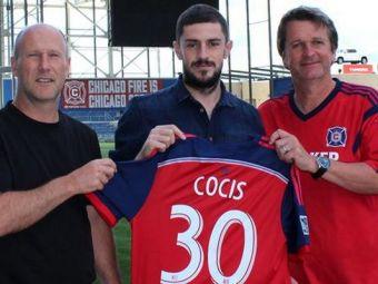 """Chicago FIRED. Finalul visului american pentru """"preferatul lui Piturca"""". Razvan Cocis a ramas fara echipa dupa doi ani in MLS"""