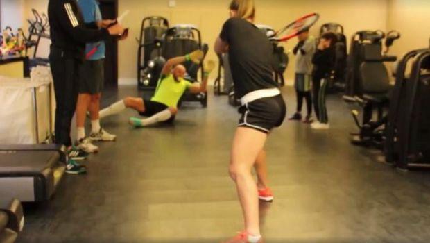 Mannequin Challenge, cu Simona Halep, Sandra Izbasa si Bogdan Stelea. Ce a iesit. VIDEO :)