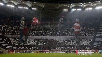 SUPER FOTO | Coregrafia UNICA a fanilor lui Dinamo la derby | Ce fotografie au facut jucatorii lui Andone in vestiar dupa ce a invins-o pe Steaua