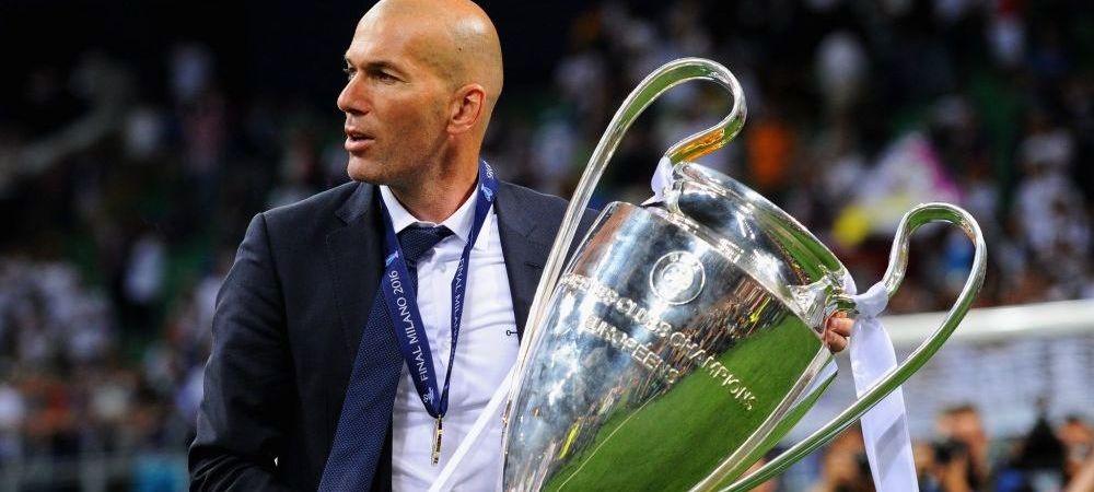 """""""Zidane ne-a schimbat viata!"""". Ce spune Florentino Perez inaintea El Clasico"""