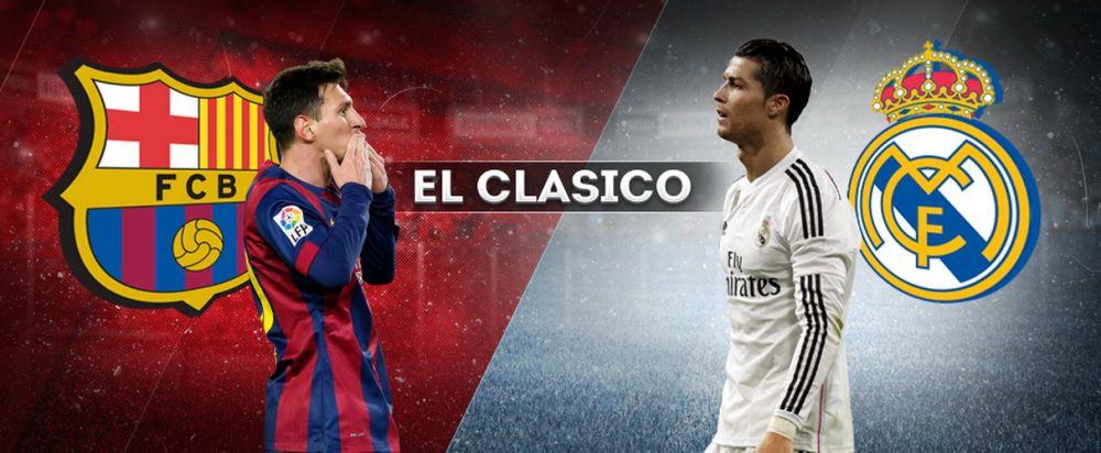 """Cele mai tari 10 dueluri EL CLASICO alte ultimilor 25 de ani. Iti amintesti de """"monstruosul"""" Real 2-6 Barcelona? Catalanii au mai umilit-o pe Real de doua ori cu 5-0"""