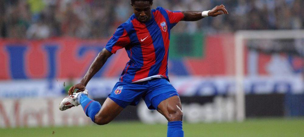 Ce s-a ales de Emeghara, fundasul pe care Steaua platea 1.200.000 de euro in 2007dar a fost lovit de blestemul accidentarilor