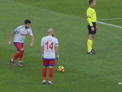 Latovlevici si Messi ce mai dau asa din lovitura libera :) Gol superb inscris de fostul fundas al Stelei! VIDEO