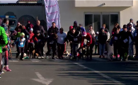 Cel mai tare concurs de triatlon are loc la Constanta! Au alergat alaturi de cainii lor! VIDEO