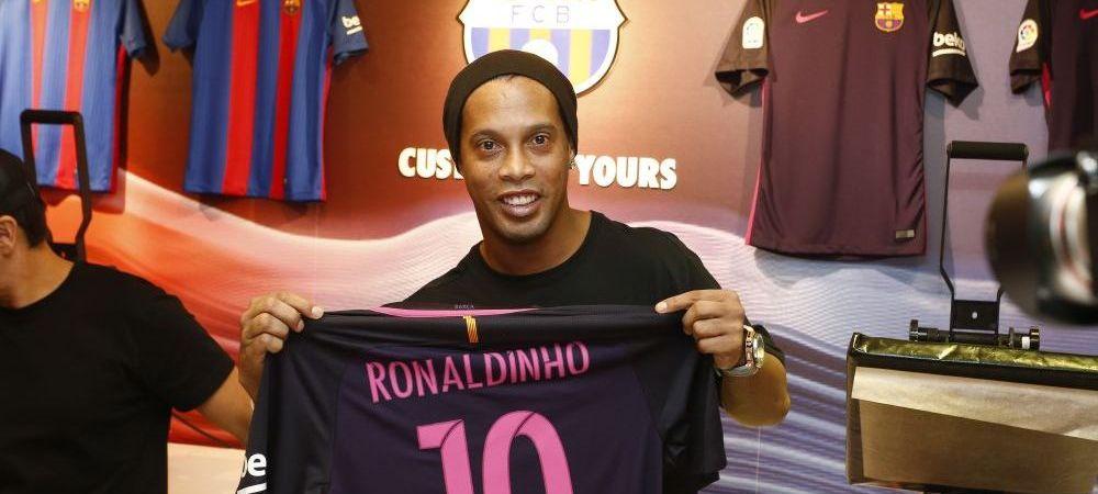 Fantastic! Dupa Ronaldinho, un alt fost star al Barcelonei anunta ca vrea sa joace pentru Chapecoense