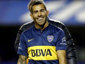 Oferta IREALA pentru Tevez din China! Argentinianul ar deveni cel mai bine platit jucator din lume, peste Messi si Ronaldo