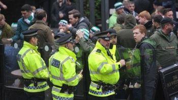 Un fan a fost arestat dupa ce a aruncat cu un HAMBURGER intr-un cal al politiei! Anuntul facut inainte de City - Celtic