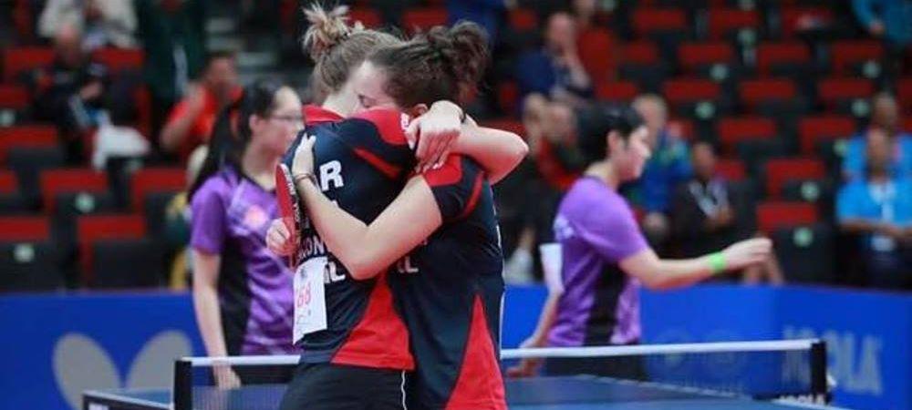 Performanta fabuloasa! Doua junioare din Romania au devenit campioane mondiale la tenis de masa la dublu, un sport dominat complet de asiatice