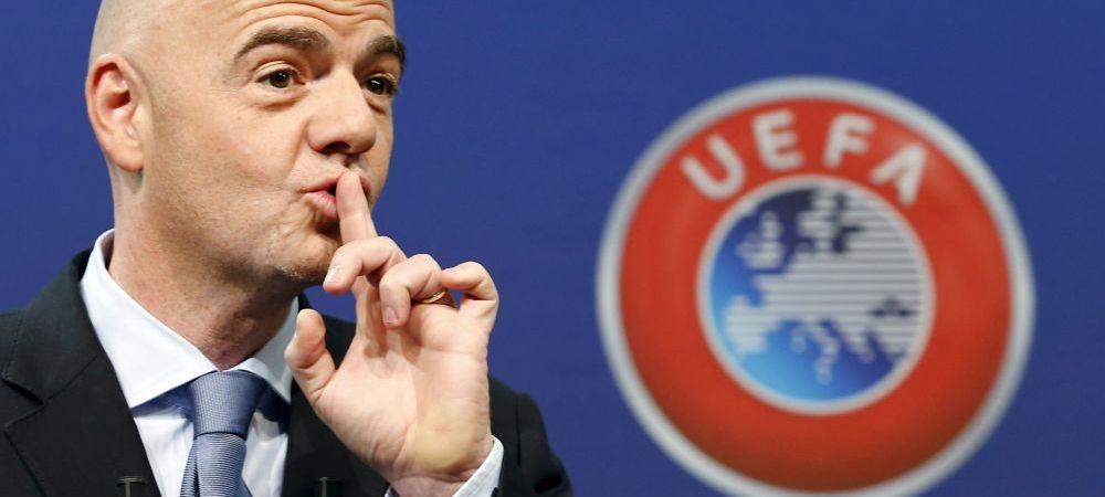 ULTIMA ORA! Mai multe sanse de calificare pentru Romania! Presedintele FIFA anunta Mondial cu 48 de echipe!