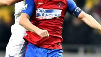 Steaua schimba capitanul la meciul cu Villarreal! Cine preia baderola, dupa ce Tosca a fost INTERZIS de Becali. Villarreal - Steaua, joi, 18:00, ProTV