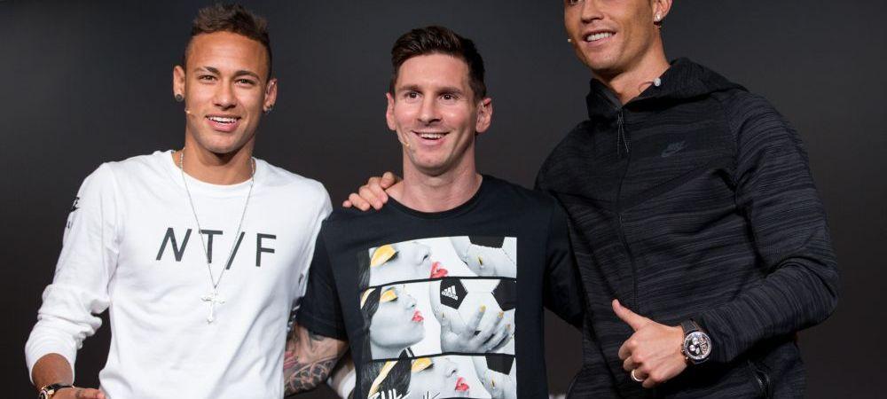 """""""Exista un singur Balon de Aur! Si acela NU este Ronaldo!"""" Reactia lui Neymar dupa ce presa din Spania a anuntat marele castigator"""