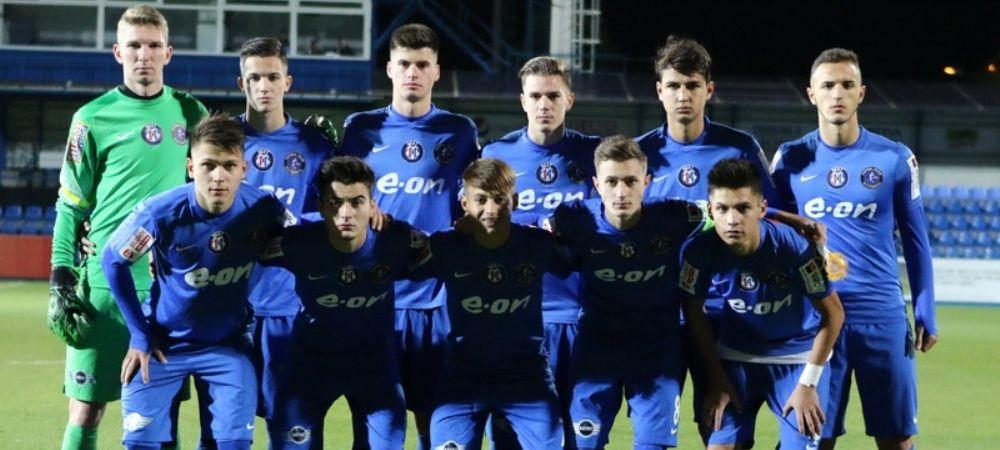 Numele URIASE din Europa pe care Viitorul le poate aduce in Romania, in playoff-ul Youth League! Meciuri geniale pentru pustii lui Hagi