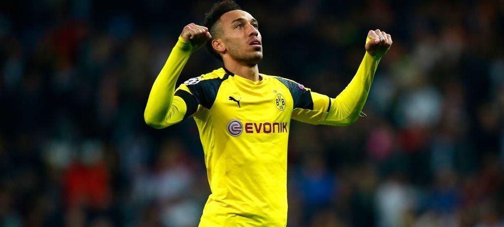 """Aubameyang si-a anuntat plecarea de la Dortmund dupa ce UCIS-O pe Real! Transferul URIAS la care viseaza atacantul: """"Da, asta vreau!"""""""