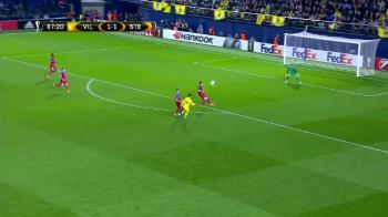 EuroPA. Villarreal 2-1 Steaua | Echipa lui Reghe, invinsa de lobul senzational al lui Trigueros! Tamas, centrare geniala la gol si eliminare! VIDEO