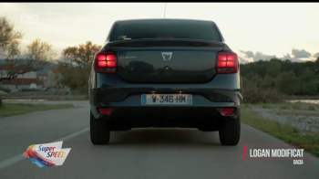 Faruri LED, claxon pe volan si camera video pentru marsarier! Super Speed a condus noul Logan facelift. VIDEO