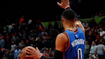 Magistral! Russell Westbrook e egalul lui Michael Jordan. Cum rescrie jucatorul Oklahomei Thunder istoria in NBA