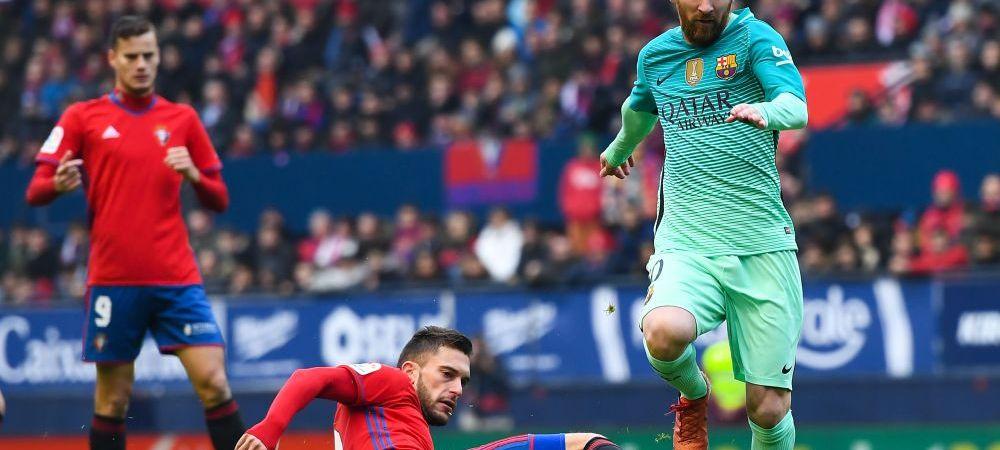 ONE MAN SHOW! Messi a fost aplaudat de o lume intreaga dupa un GEST SUPERB! Cum l-au surprins camerele cu Osasuna