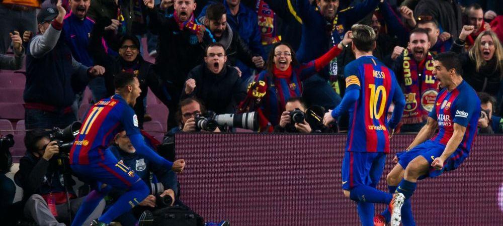 """""""Buuun e GRASUTUL!"""" :)) Neymar l-a luat peste picior pe Suarez chiar in timpul meciului! Imaginea pe care a postat-o pe net dupa gol"""
