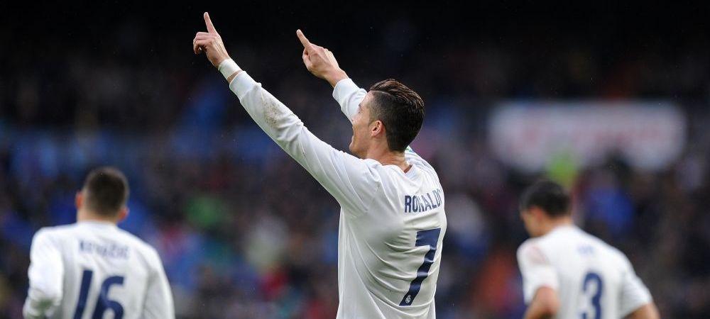 Aparitie surpriza in tribune alaturi de Cristiano Ronaldo! Cine este bruneta care a stat langa starul Realului la meciul cu echipa lui Andone