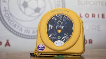 Defibrilatoare GRATIS pentru TOATE cluburile afiliate FRF. Anuntul facut azi de Federatie
