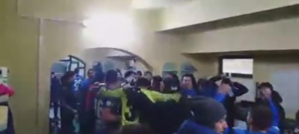 """""""Siiiiiiiii!"""" Nebunie in vestiar la Viitorul! Jucatorii s-au bucurat cu strigatul lui Cristiano Ronaldo! VIDEO"""