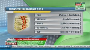 """SONDAJ Transfer Market   Cea mai buna mutare facuta in Liga I in 2016: jucatorul luat de Steaua pentru viitor, liderul lui Dinamo sau """"inca-magicianul"""" Eric?"""