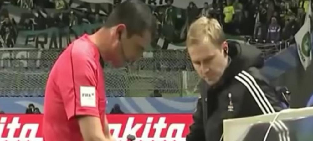 FAIL! Primul penalty acordat in urma probei video a fost GRESIT! Ce gafa a comis arbitrul! VIDEO