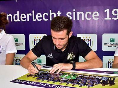 Idoli dupa jumatate de an. Chipciu si Stanciu au devenit preferatii fanilor lui Anderlecht | VIDEO & FOTO